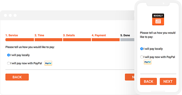 Step 5: Payment