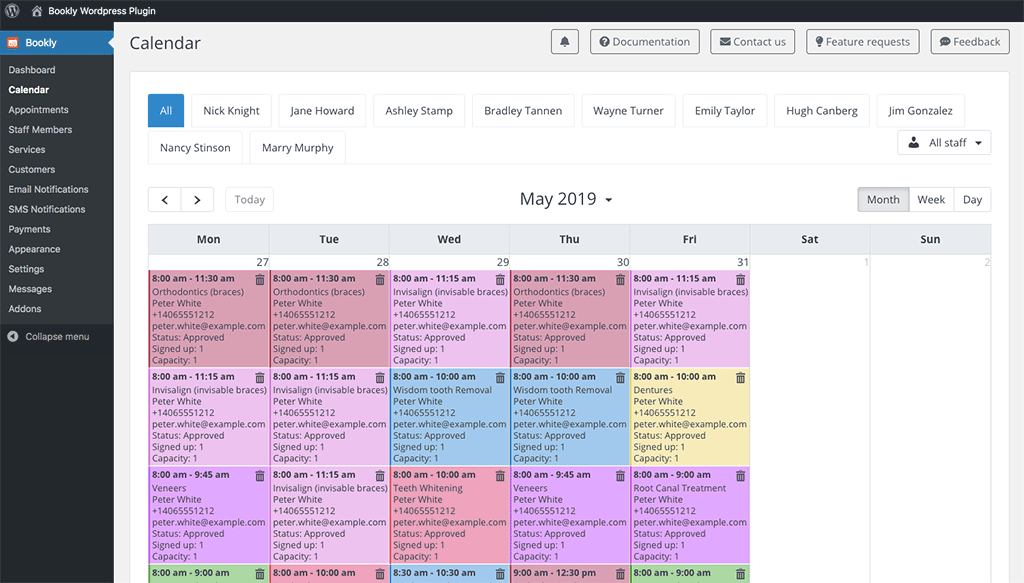 9. View Calendar in Different Formats