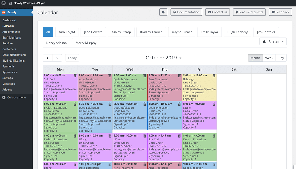 Automate the Schedule of Employees