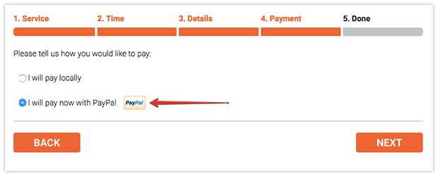 Seamless checkout experience