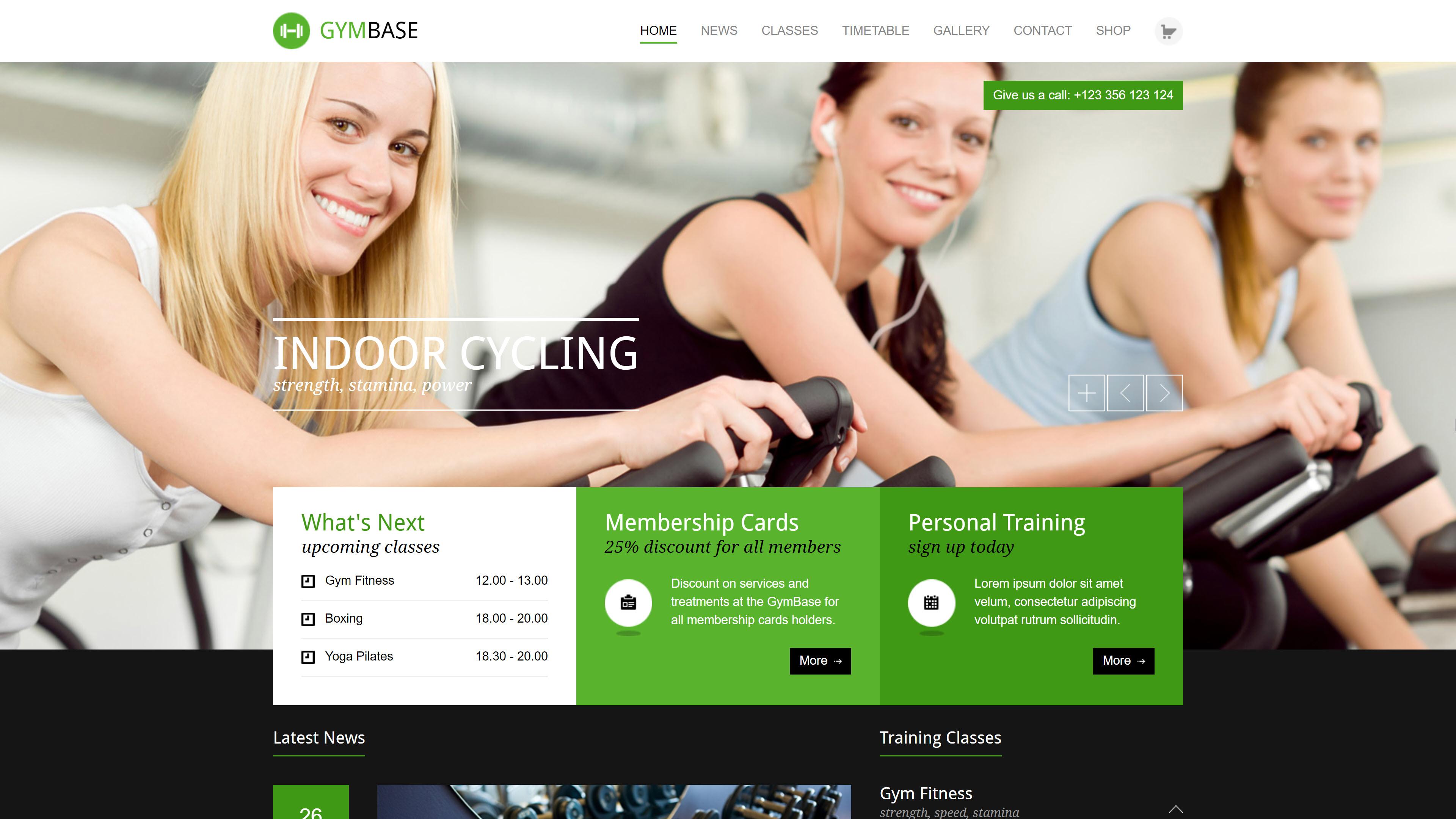 Gymbase theme
