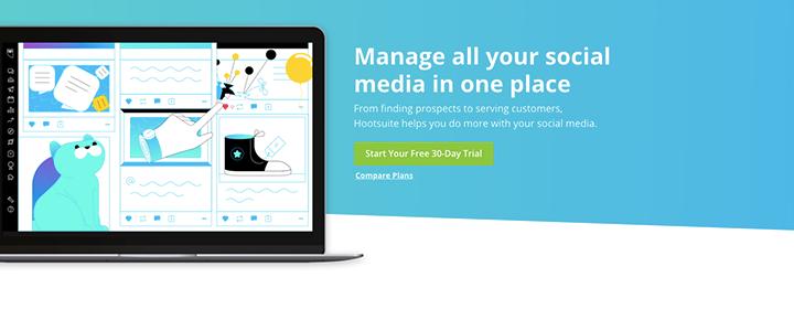 Hootsuite (Social Media Management)